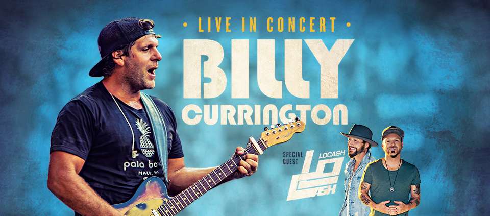 Billy Currington with Locash at AVA