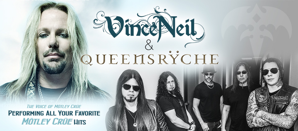 Vince Neil & Queensrÿche live at Casino Del Sol Ava Amphitheater