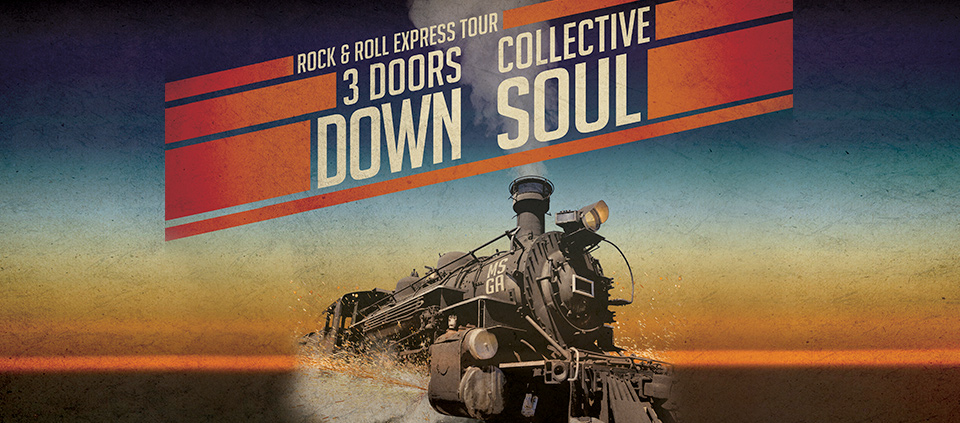 3 Doors Down & Collective Soul – The Rock & Roll Express Tour