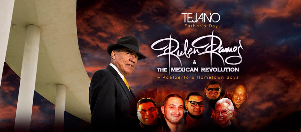 2018 Father's Day Tejano Show  featuring Ruben Ramos, Adalberto and Hometown Boys