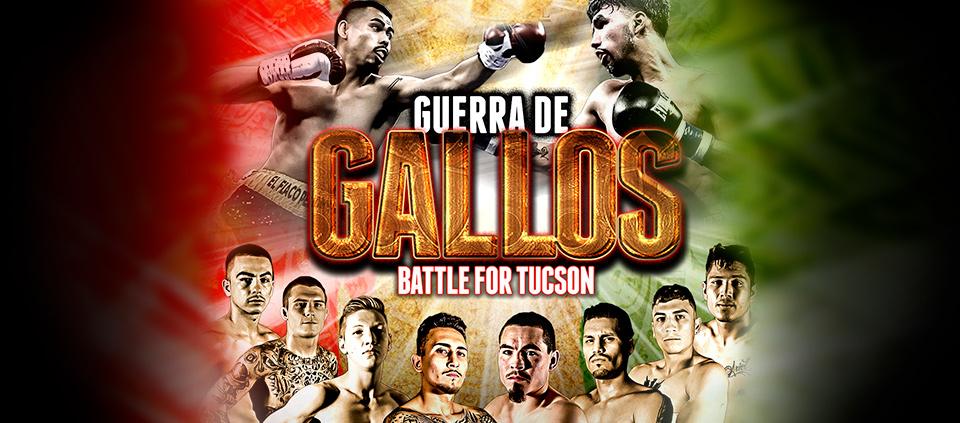 Guerra De Gallos, Live Boxing presented by Raging Babe & Peltz Boxing