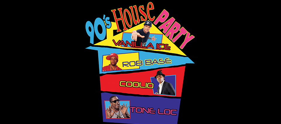 90's House Party ft. Vanilla Ice, Rob Base, Tone Loc and Coolio at AVA in Tucson