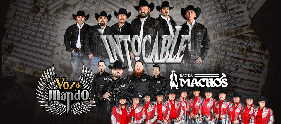 Intocable, Voz de Mando and Banda Machos