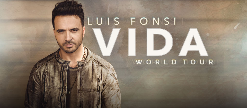 Luis Fonsi – Vida World Tour
