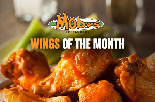 Moby's wings of the month