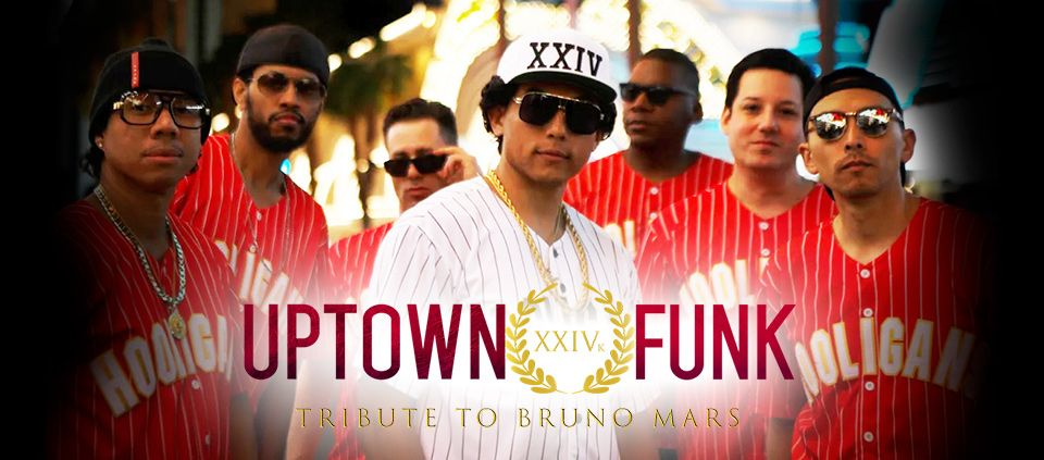 Uptown Funk USA Bruno Mars Tribute at Casino Del SOl