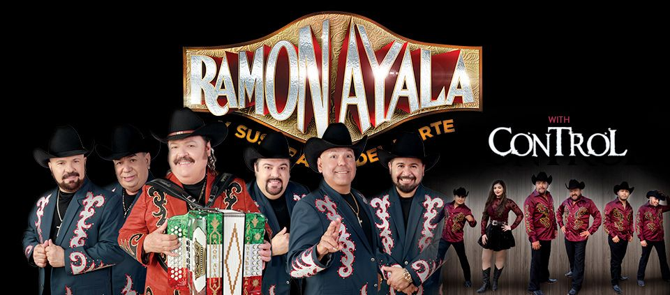 Ramon Ayala and Grupo Control live at AVA Amphitheater.