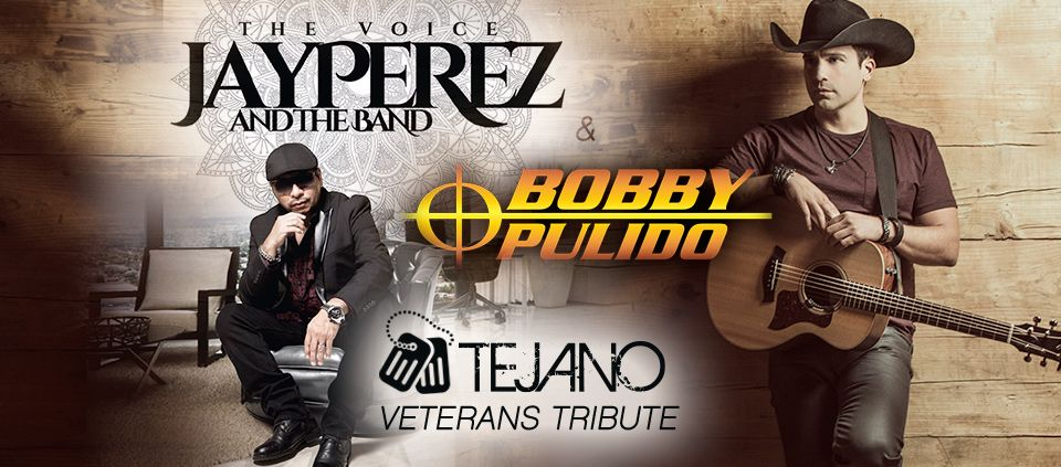 Veterans Tejano Tribute – Jay Perez and Bobby Pulido
