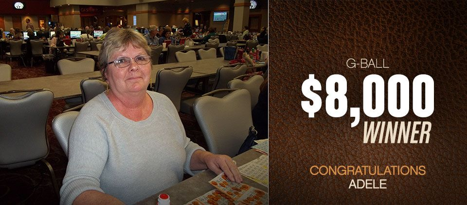 Bingo Winners at Casino Del Sol