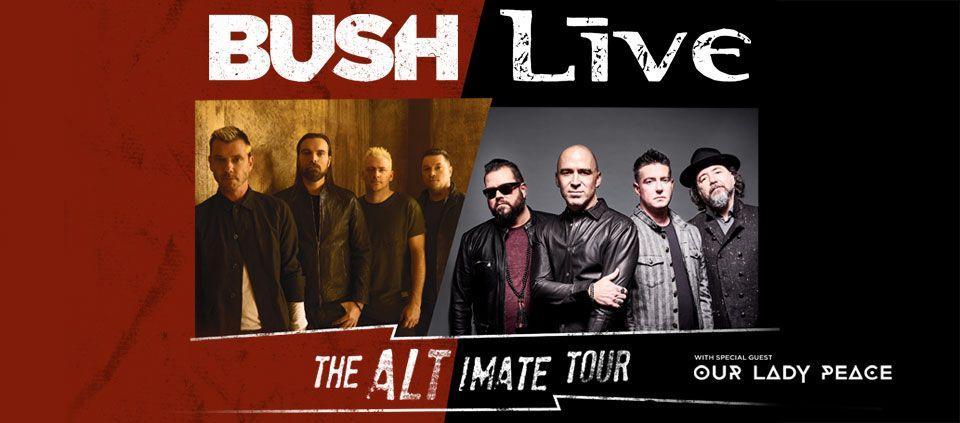 Bush & +LIVE+ – The Altimate Tour   Casino Del Sol