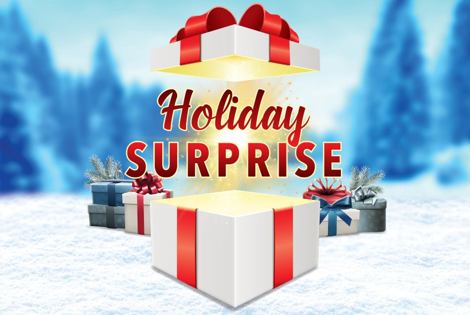 Holiday Surprise Promotion at Casino Del Sol