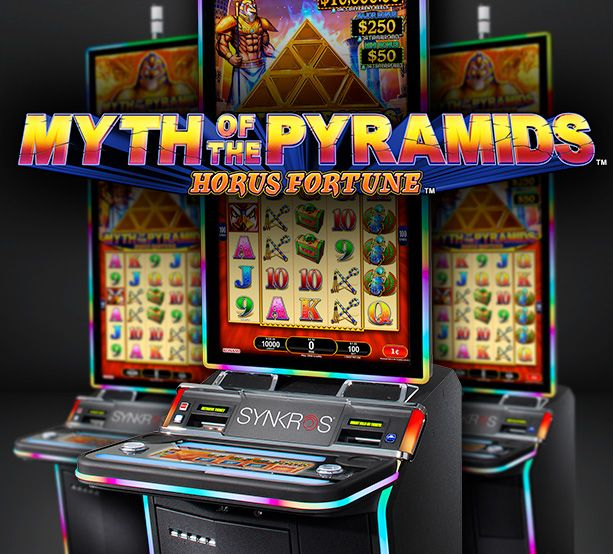 Myth of Pyramids Slot Machine Casino Del Sol