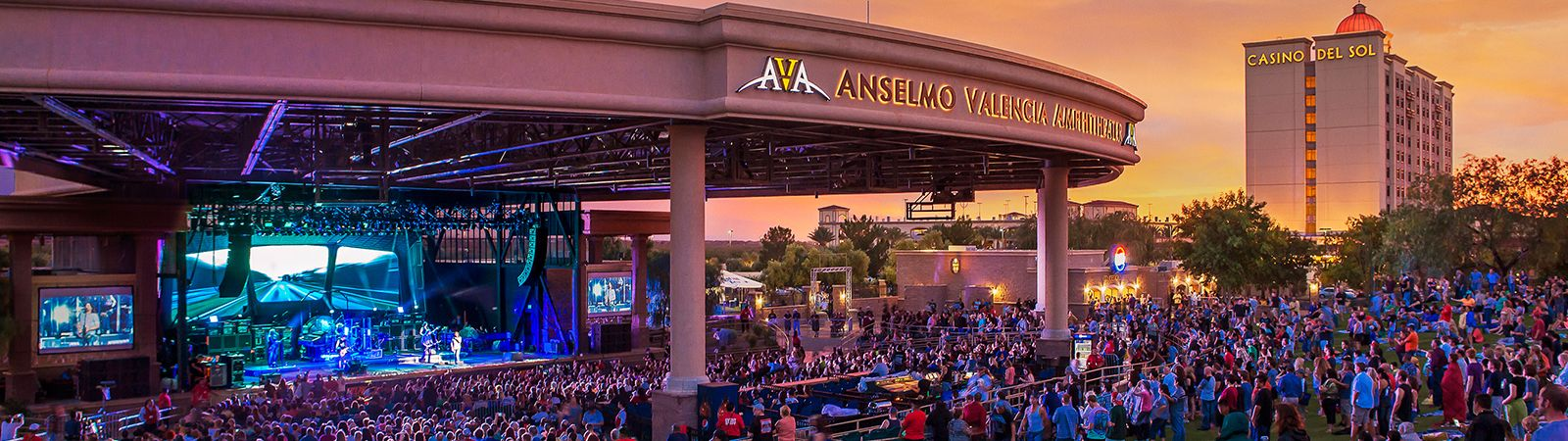 Concerts at AVA Amphitheater Casino Del Sol