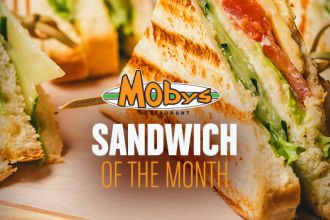 Moby's Sandwich of the Month