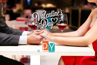 Valentine Day Special at PY Steakhouse Casino Del Sol