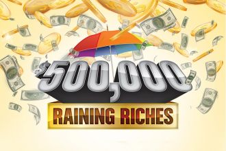 $500,000 Raining Riches at Promotion at Casino Del Sol