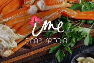 Snow Crab Special at Ume